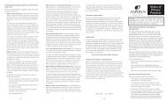 NOTICE OF PRIVACY PRACTICES SUMMARY - Aspirus