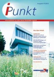 i-punkt 01/2012 - Grieshaber Logistik AG
