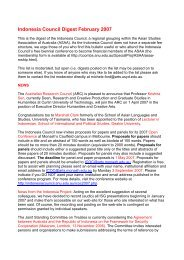 February - Asian Studies Association of Australia