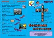 Gemeinde unterwegs 3-2013 - Evangelische Schaustellerseelsorge