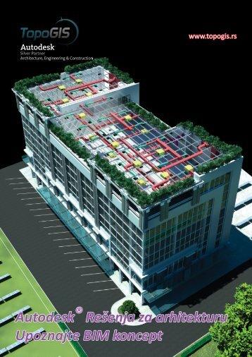 Autodesk ® Rešenja za arhitekturu Upoznajte BIM ... - TopoGIS doo