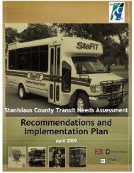 Senior/Person with a Disability - Transportation ... - Stanislaus County