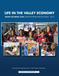 LIFE IN THE VALLEY ECONOMY - Working Partnerships USA