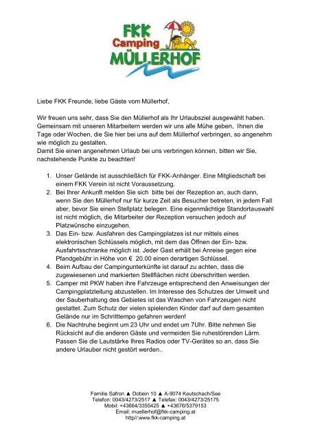 Info fkk freunde FKK Freunde