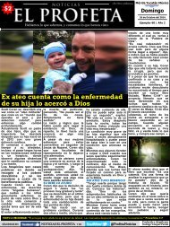 Noticias El Profeta 26 de Octubre 2014 Ejemplar 60