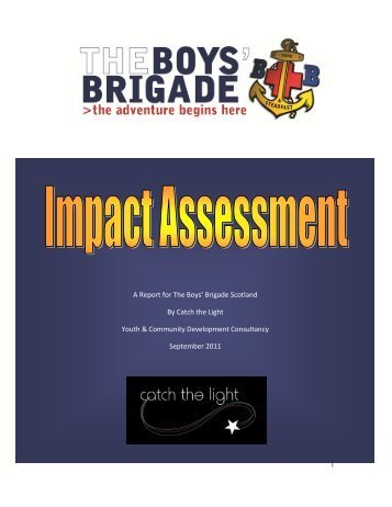 Impact Study Report - The Boys' Brigade