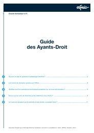 Guide des Ayants-Droit - Afnic