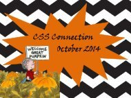 CSS Connection October 2014