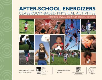 After School Energizers - East Carolina University
