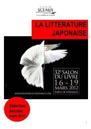 Salon du livre - Bibliothèque municiaple de Sceaux