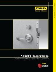 Best 40H Series Catalog - Top Notch Distributors, Inc.