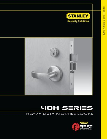 Best 40H Series Catalog - Top Notch Distributors, Inc.