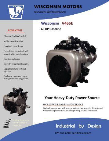 Wisconsin Motor Service manual vh4d