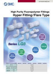 View Chemical Fittings Series LQ3 Catalogue - SMC Pneumatics ...