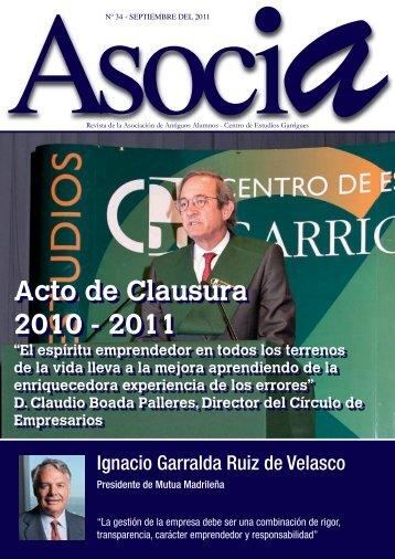 Nº 34, Septiembre 2011 - Centro de Estudios Garrigues