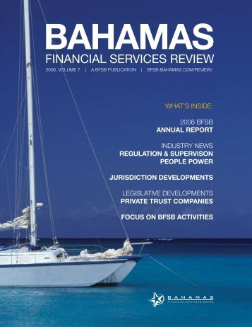 Bahamas Financial Services Review, Vol 7