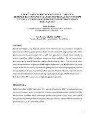Perancangan program pelatihan berbasis kompetensi ... - SBM ITB