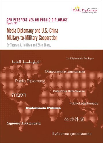 Media Diplomacy and U.S.-China Military-to-Military Cooperation