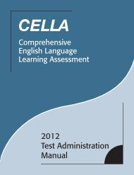 2012 Test Administration Manual - Florida  Department of Education