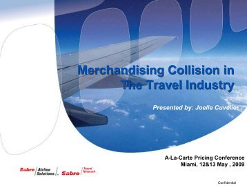 Merchandising Strategy - Airline Information