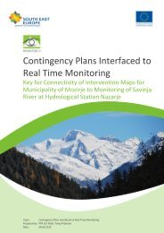 Contingency Plans Interfaced to Real Time Monitoring
