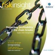 Risk Insight - Corporate Business - Zurich