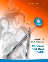 Report from the Governor's Task Force 2009 - State of Oklahoma