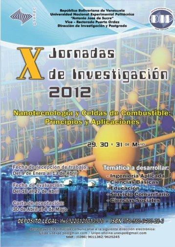 Untitled - Vicerrectorado Puerto Ordaz - Universidad Nacional ...