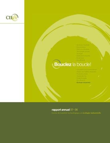 Bouclez la boucle! - Centre de Transfert Technologique en Écologie ...