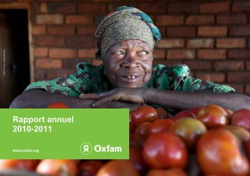 Rapport annuel 2010-2011 - Oxfam International