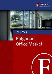 Bulgarian Office Market – Q3, 2009.pdf - Forton