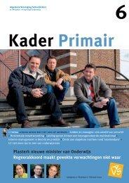 Kader Primair 6 (2006-2007). - Avs