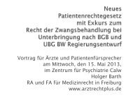 Vortrag von RA Holger Barth vom 15.05.2013 zum ...