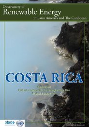 Costa Rica - Observatory for Renewable Energy in Latin America and