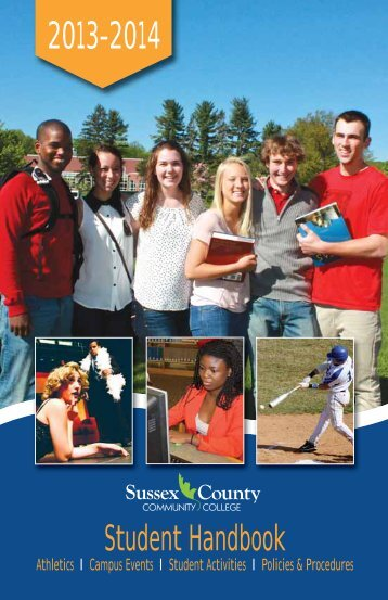 Student Handbook - Sussex County Community College