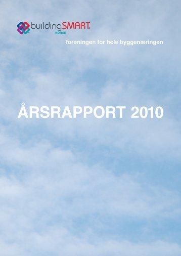 ÅRSRAPPORT 2010 - buildingSMART