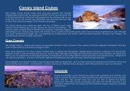Canary Island Cruises - CompleteCruiseSolution.com