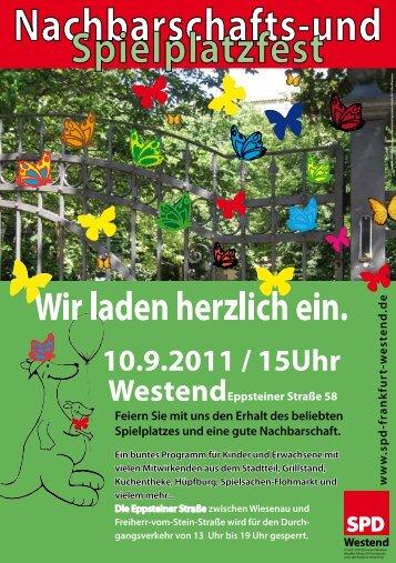 Nachbarschafts - SPD Frankfurt