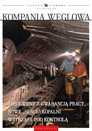 maj 2010 - Kompania Węglowa S.A.