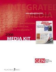 MEDIA KIT - Genetic Engineering News