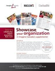 your organization 2011 Showcase - Imagine Canada