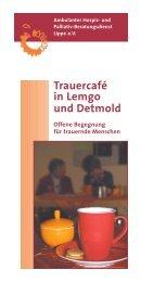 Trauercafé in Lemgo und Detmold - Ambulanter Hospiz- und ...