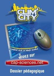 Le livret complet - Clim City - Cap Sciences