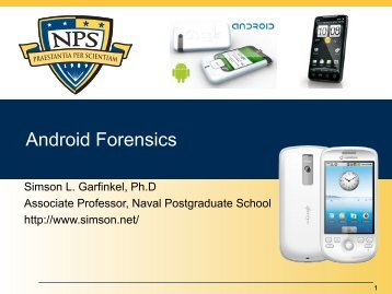 2011-07-12 Android Forensics