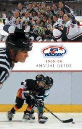 2005-2006 USA Hockey Annual Guide - usahockey.com