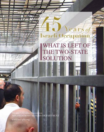 What is left of the two-state solution - Palestine Liberation ...