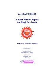 Solar Writer - Zodiac Child - Esoteric Technologies