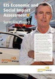 EIS Economic and Social Impact Assessment - Arrow Energy