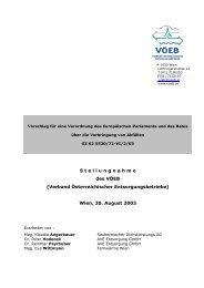 Wien, 20. August 2003 - VÖEB