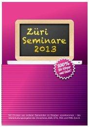 Züri Seminare 2013